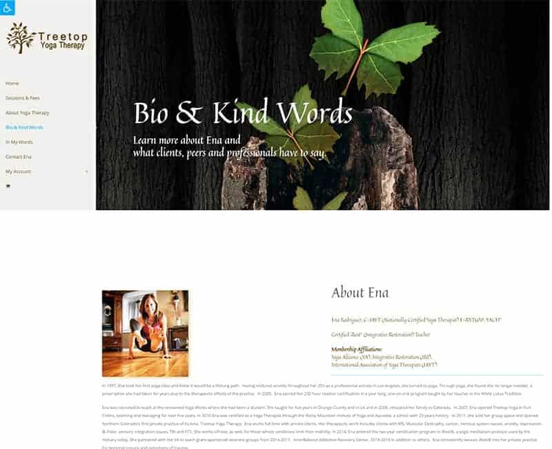 Treetop Yoga Therapy 2021