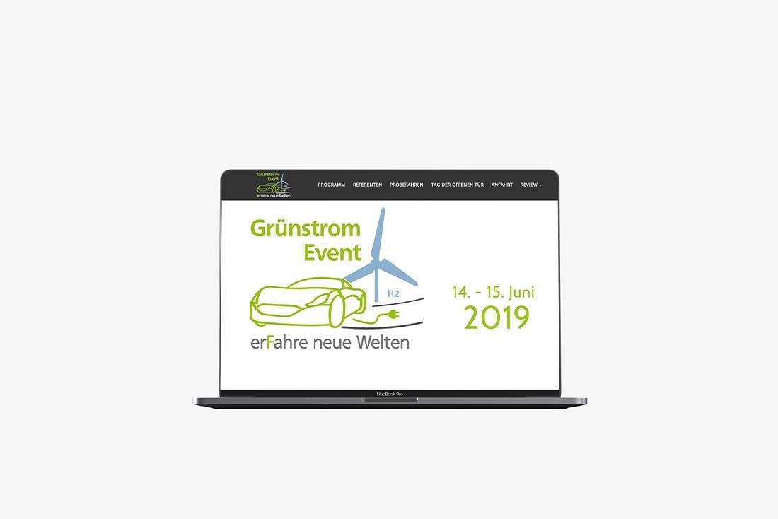 Grünstrom-Event · Veranstaltungsmanagement