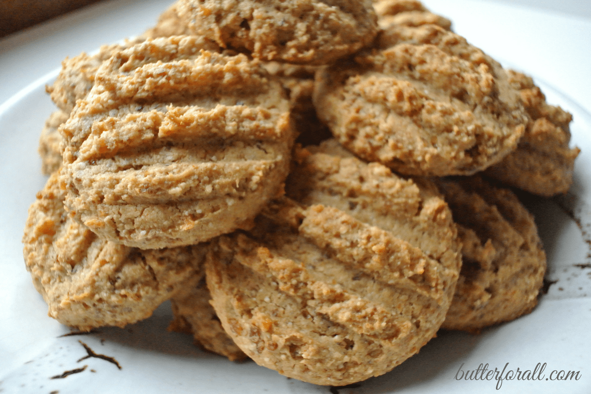 Chewy Apricot Cashew Cookies 100% Fruit Sweetened