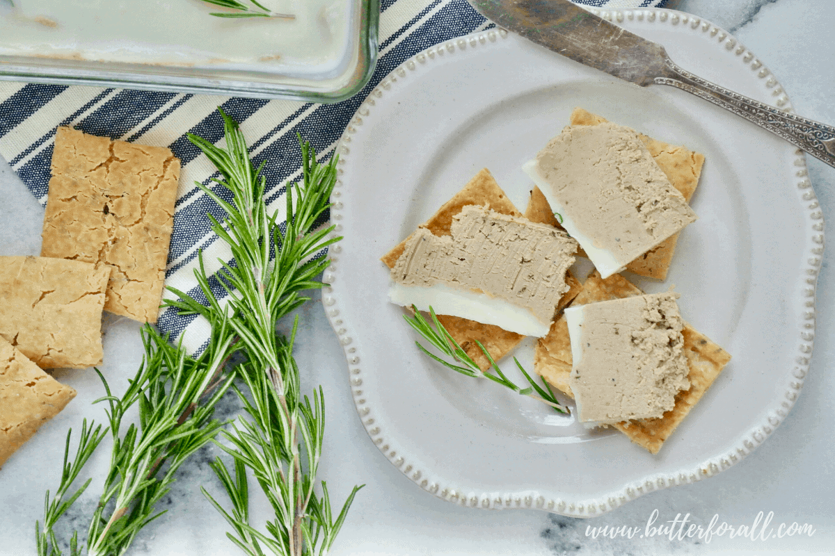 Buttery Beef Liver Pâté with Rosemary and Thyme