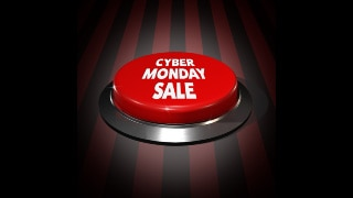 Cyber Monday Push Button Sale Graphics