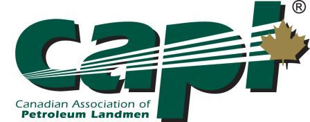 Canadian Association of Petroleum Landmen logo