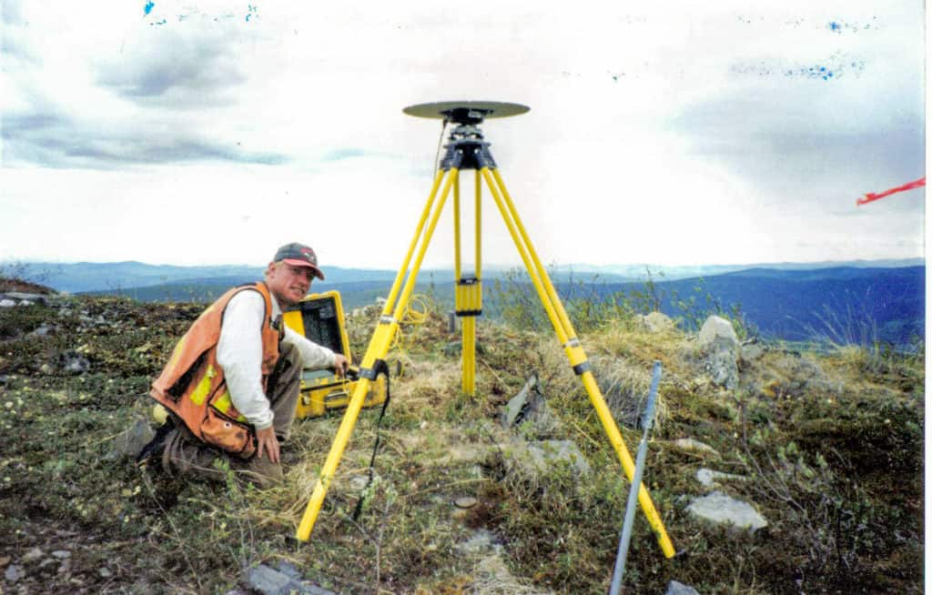 Historical photo from field survey in Haystack Mountains