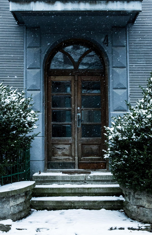 deicing your front door lock