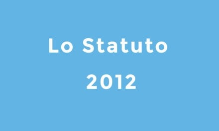 Statuto del 2012