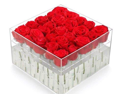 Acrylic Flower Box