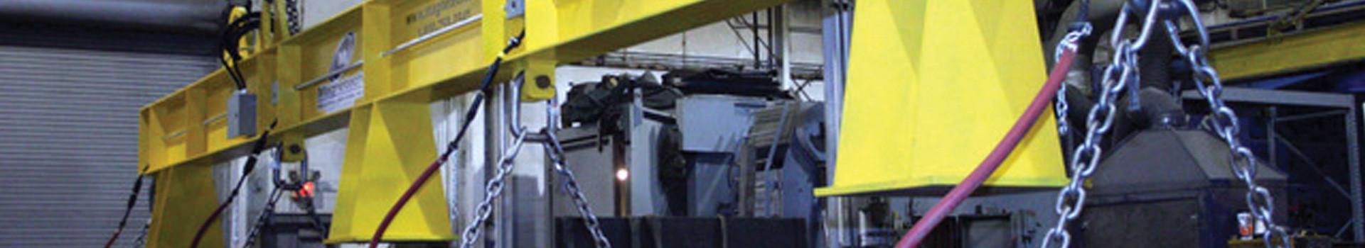 beam magnet crane
