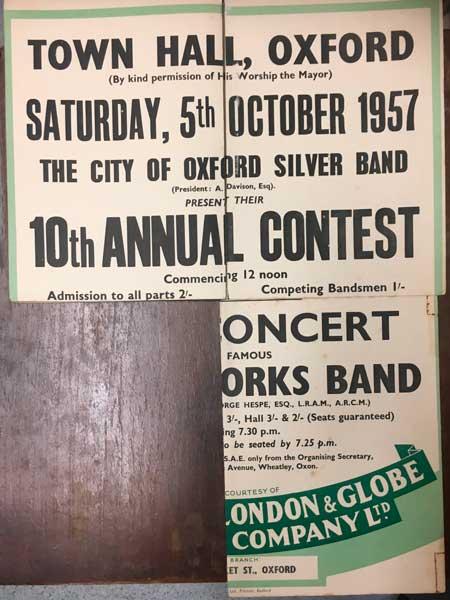 1957 Oxford Annual Contest