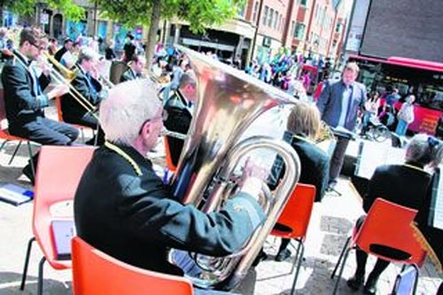 City's silver band hits the high notes