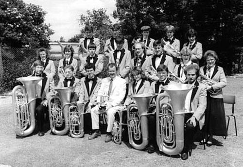 Silver band marks its centenary