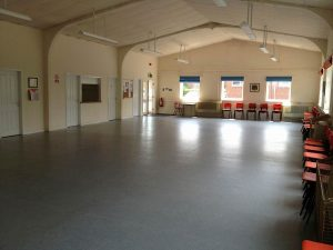 Silver Band Hall Interior