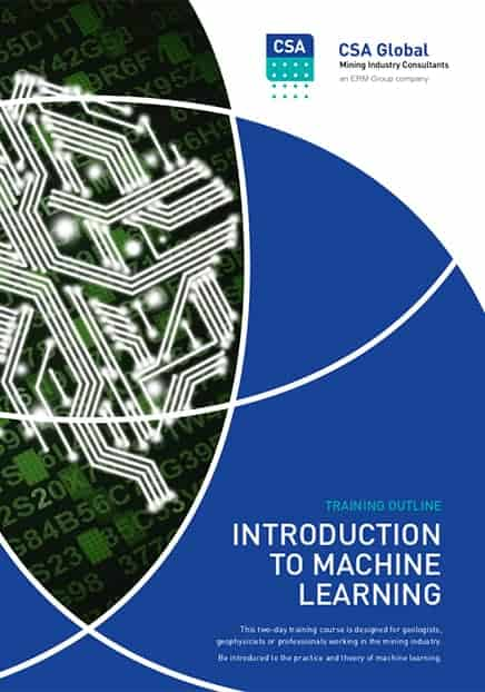 Introduction to Machine Learning course outline