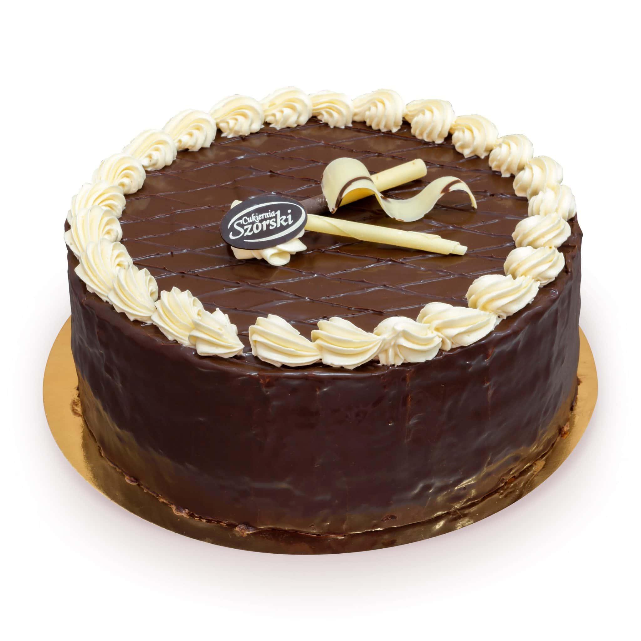 Klasyczny tort czekoladowy ostrów wielkopolski