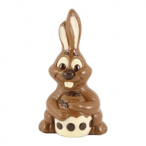 zajac z czekolady