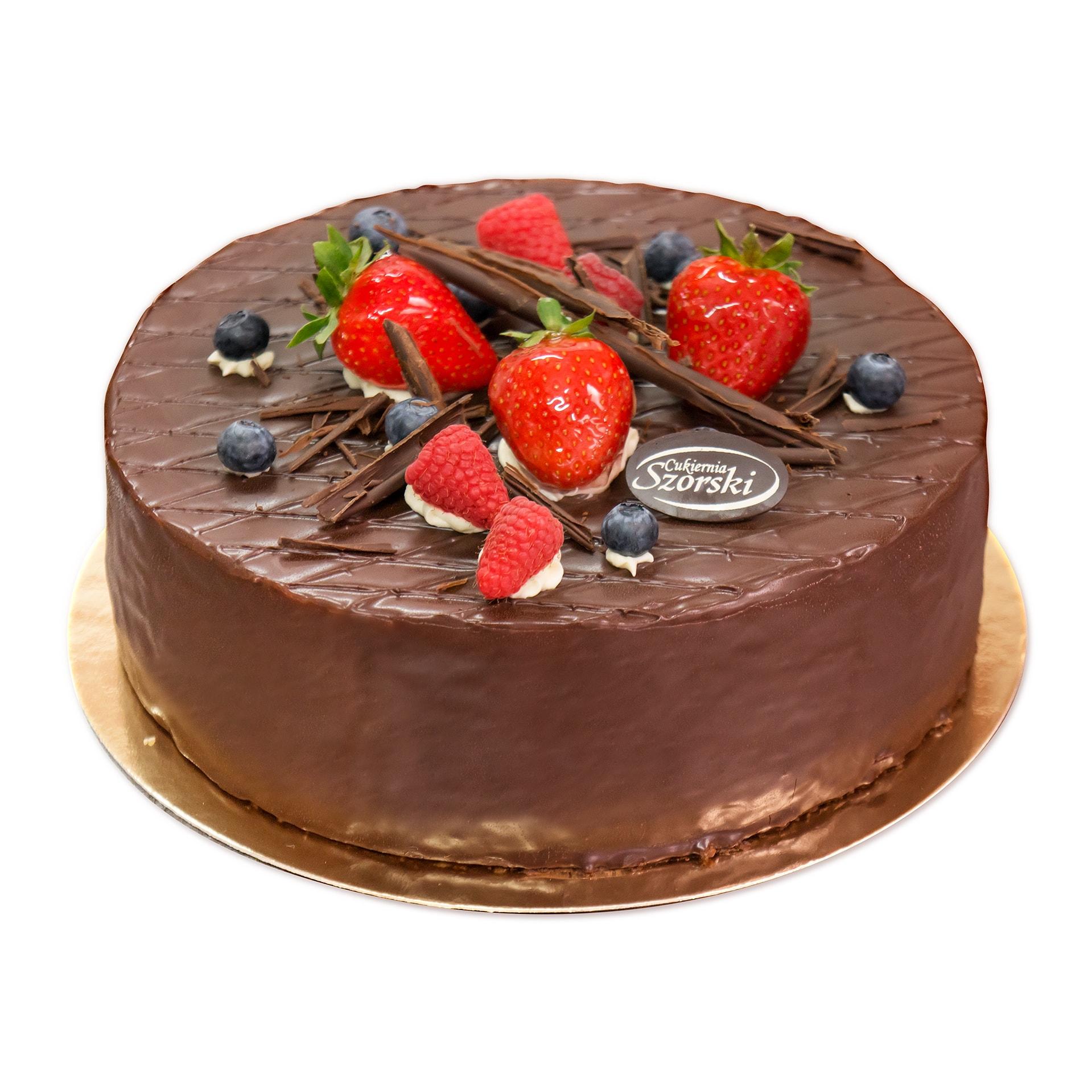 tort lesny tort czekoladowy