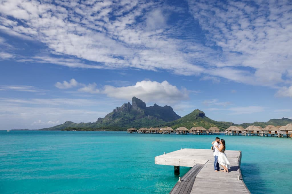 Four Seasons is considered one of the best resort in Bora Bora