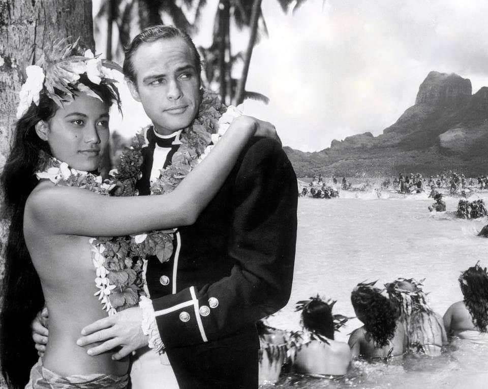 Marlon Brando Mutiny of the Bounty Bora Bora