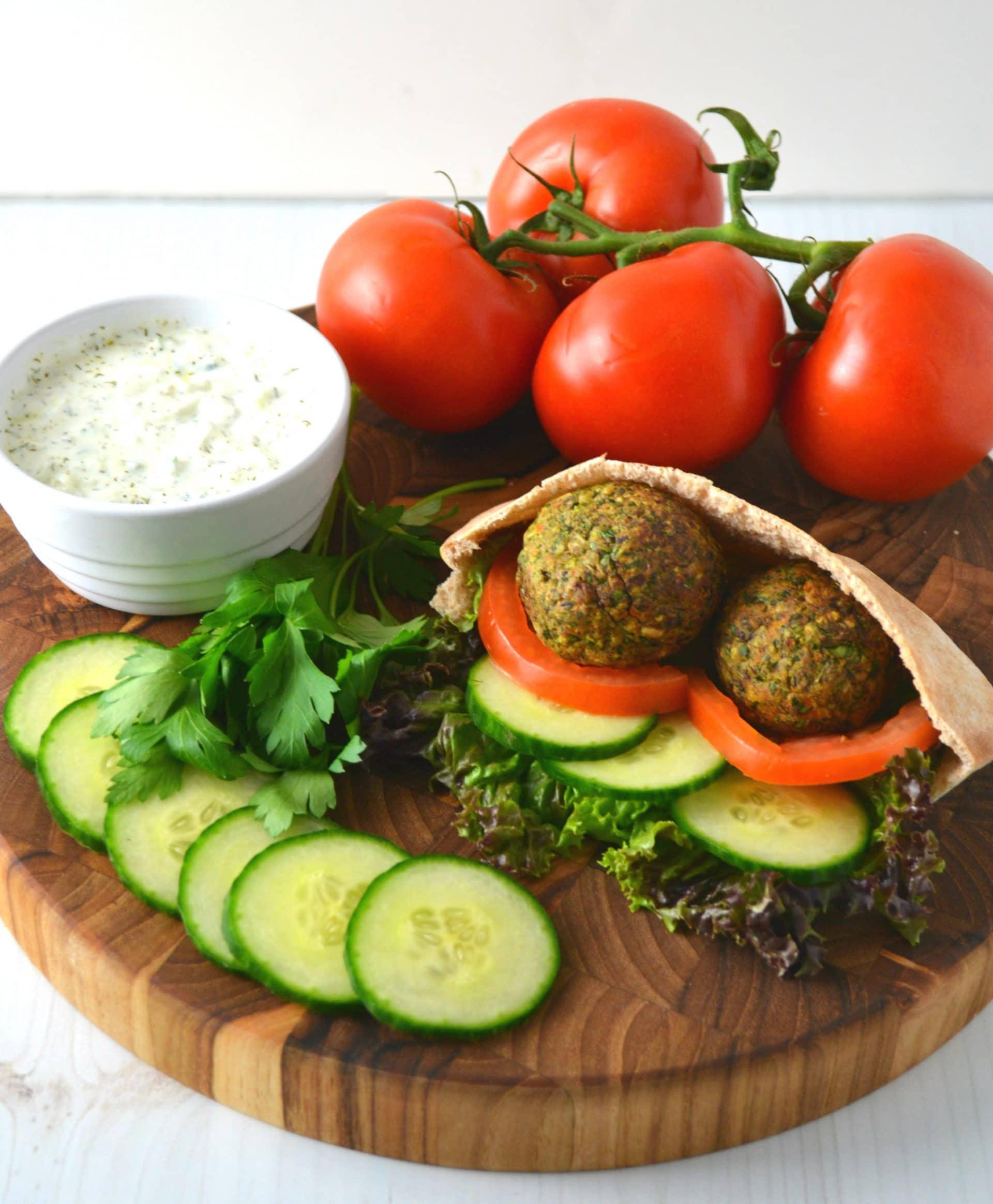 How To Make Vegan Falafel Style Fritters Using a Veggie Burger