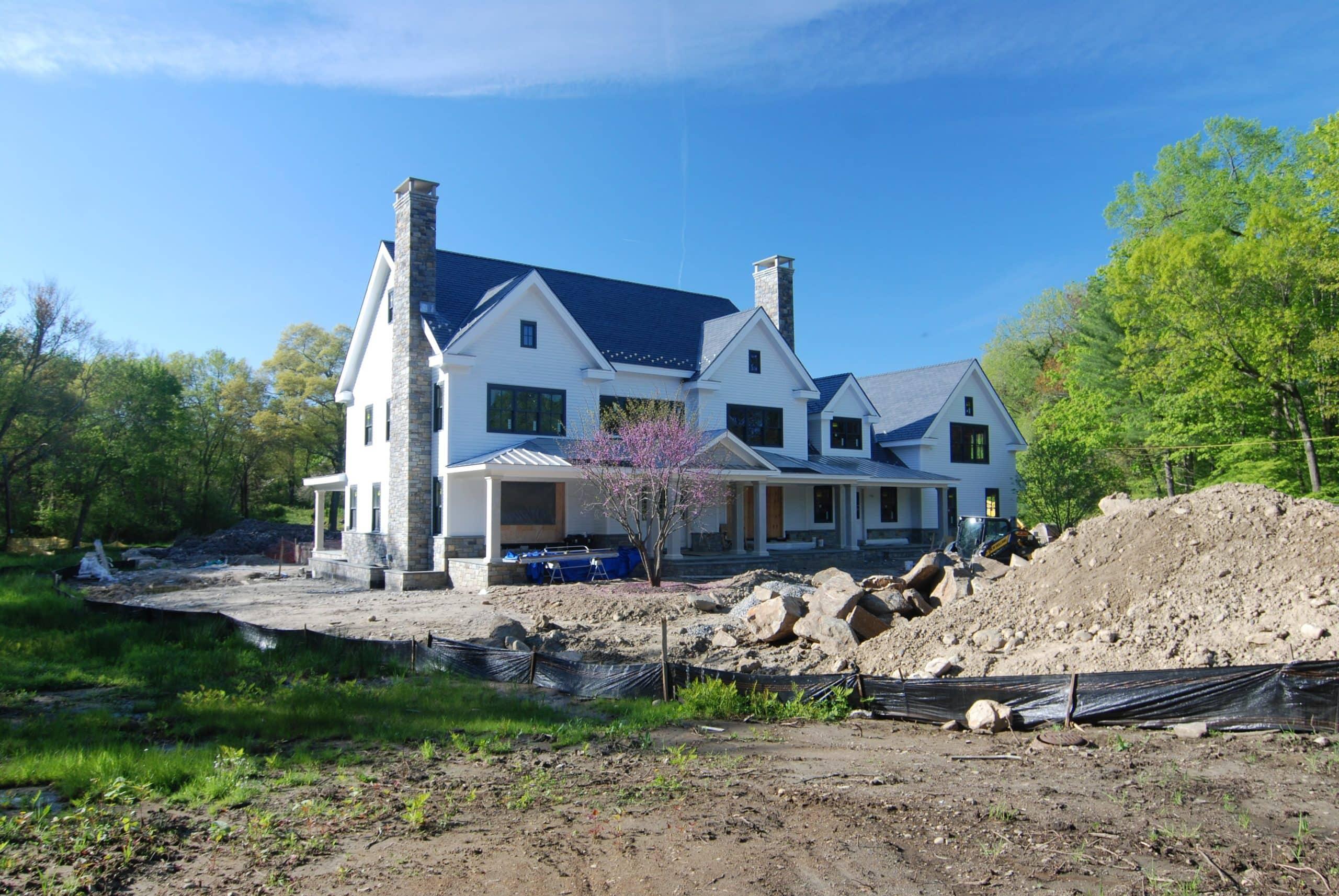 6 greenwich home construction in progress