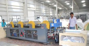 drum printing machine at infrastructure facility
