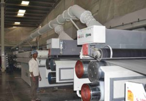 extrusion plant at infrastructure facility