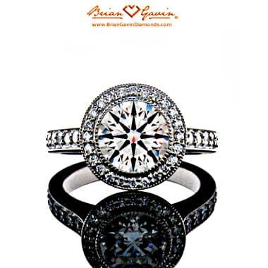 Brian Gavin Halo Platin Diamantring - Kritische Betrachtung auf die Diamant-Größe und ihren Preis
