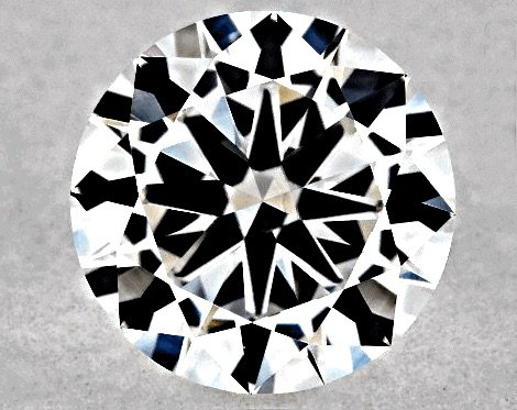 0.70ct GIA-Bewertung: Cut Good, Polish Excellent, Symmetry Excellent, Farbe F Reinheit VS1