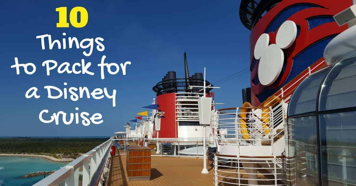 Packing List for a Disney Cruise