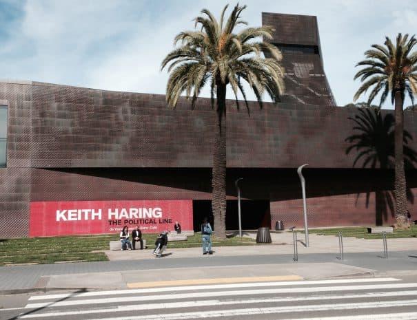 DE YOUNG KEITH HARING