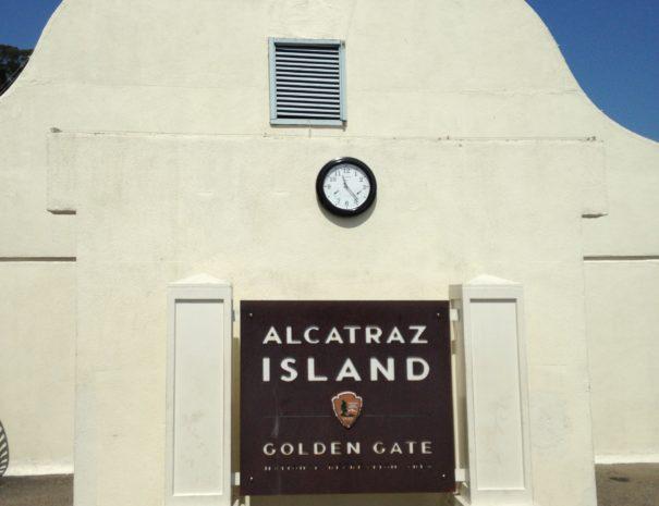 Alcatraz Clock