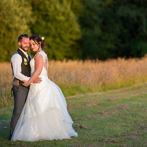 Wedding of Claire and Tom at Brookfield Barn