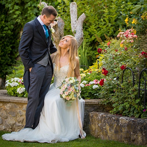 Wedding of Lauren and Dan at Cooling Castle Barn