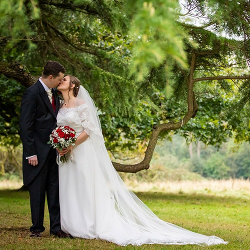 Wedding of Gemma and Ash at Highley Manor, Sussex