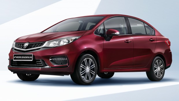 2019 Proton Persona Facelift Front