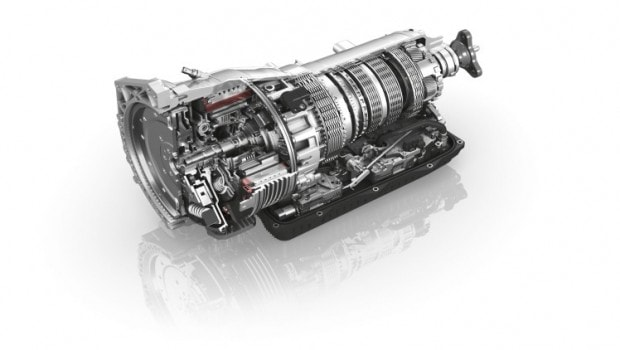 ZF 8-speed conventional automatic