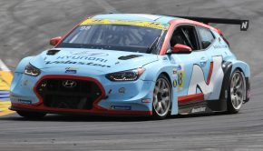 Hyundai victory at the Fox Factory 120 at Michelin Raceway Road Atlanta
