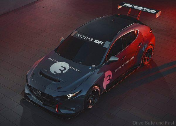 Mazda3 TCR race car top