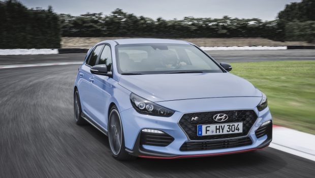 Hyundai i30 N on track