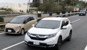 Honda CR-V hybrid in Japan