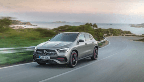 Mercedes-Benz GLA In motion