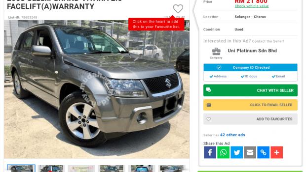 2008 Suzuki Vitara SUV used buy review