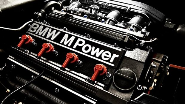 BMW M3 E30 model engine