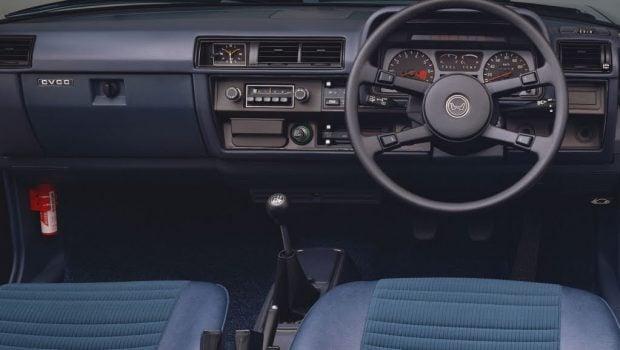 1977 Honda Accord sedan cabin
