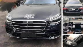 Mercedes-Benz W223 S-Class Leaked Images exterior