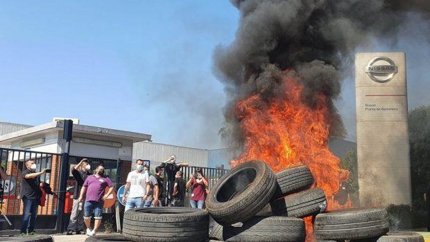 Nissan Spain Factory Riot