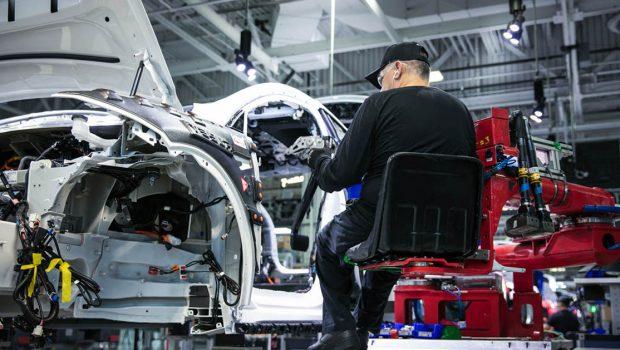 Tesla factory production