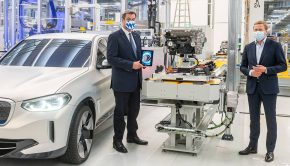 BMW Group making e-drives in Dingolfing