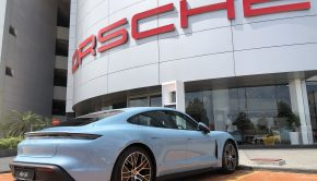 Porsche Taycan At Ara Damansara