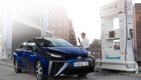Toyota Mirai Hydrogen Charging