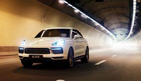 Porsche Cayenne SDAP tunnel drive